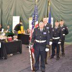 Dubois County Veteran's Color Guard.