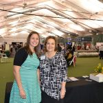Tina Vaal & Nancy Eckerle, with the Jasper Chamber of Commerce, at the 2016 Buy Indiana Expo.